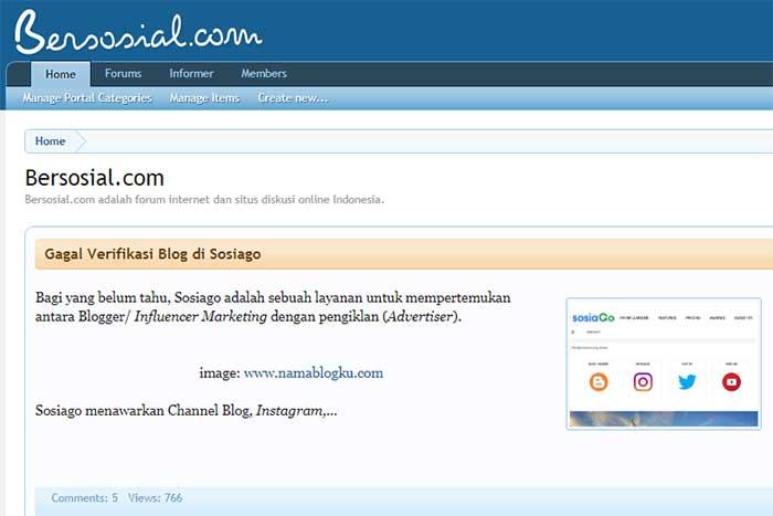 Forum Bersosial.com